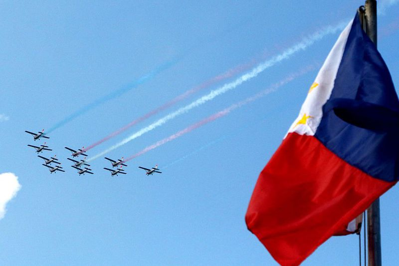 Philippinische Flagge