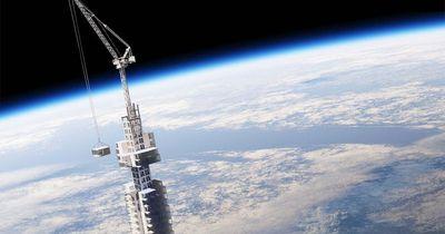 Ein Asteroid als Fundament: Der verrückteste Wolkenkratzer der Welt