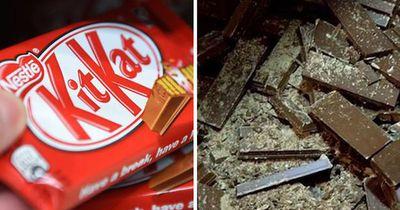 Das ist wirklich in deinem KitKat