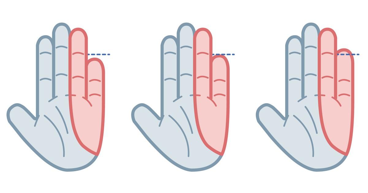 Was verrät dein kleiner Finger über deine Persönlichkeit?