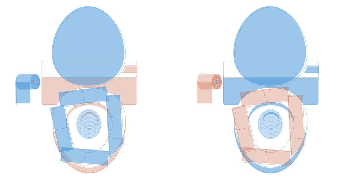 Warum du kein Toilettenpapier auf deine Klobrille legen solltest