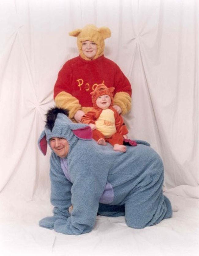 Zum Familienfoto trägt man das Gleiche.
