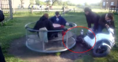 Gefährlicher YouTube-Stunt: Junge platz fast der Kopf