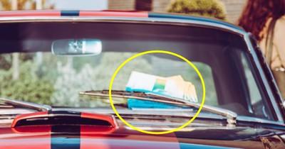 Schmuck an der Autoscheibe? Warum das ein Warnsignal ist