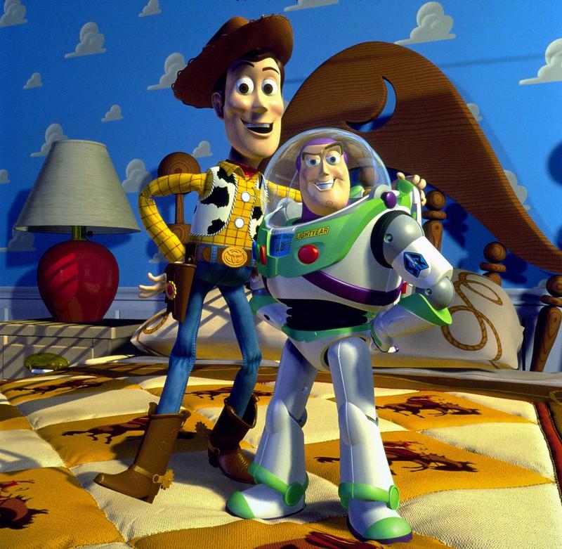 """Albtraumszenen sind auch in dem Kinderfilm """"Toy Story"""" zu finden"""