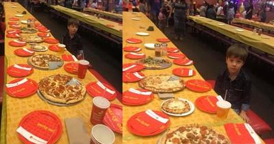 Keiner kam zu seinem Geburtstag