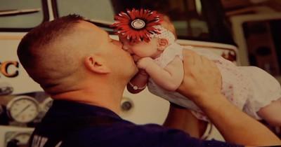 Feuerwehrmann adoptiert ein Baby, das er zuvor gerettet hat