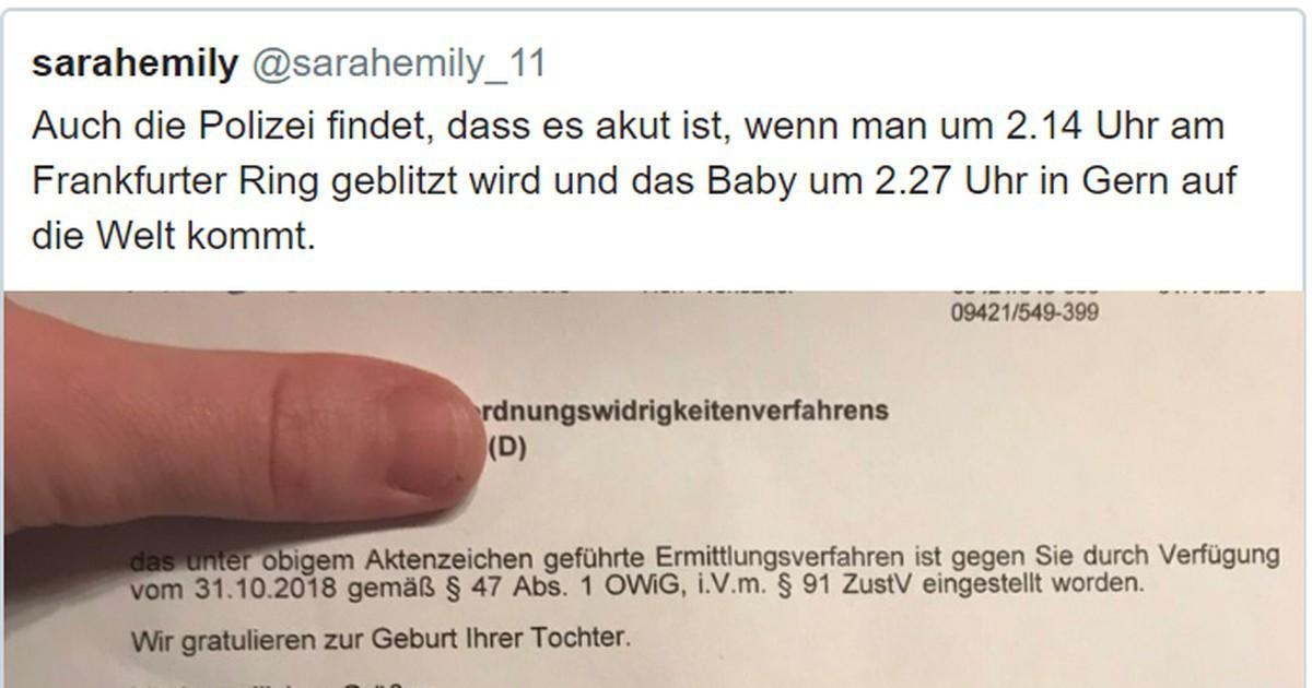 Münchner Polizei zeigt Mitgefühl