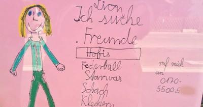 13 witzige Notizen, die Kinder öffentlich ausgehängt haben