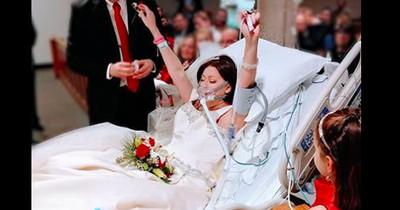 Sie heiratete wenige Stunden vor ihrem Tod