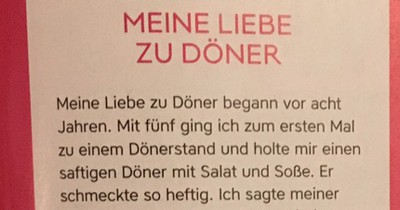 13-Jähriger aus Wien schreibt eine Liebeserklärung für den Döner