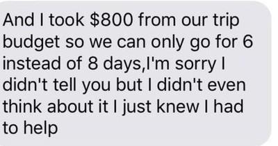 Mann nimmt 700€ aus Urlaubskasse - Seine Frau reagiert