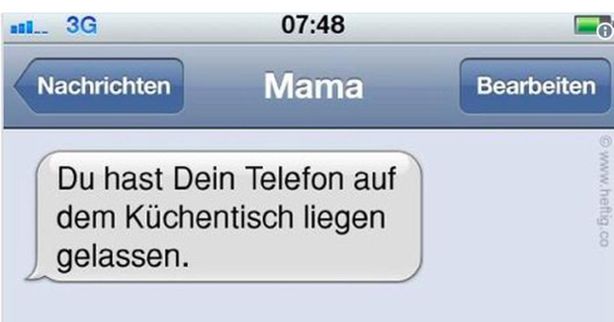 Die witzigsten WhatsApp-Nachrichten, die Mütter je gesendet haben
