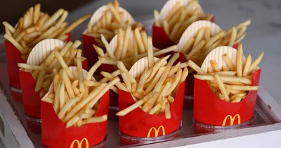 Mc Donalds: Die Lasche an den Pommes hat eine versteckte Funktion