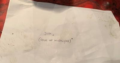 Putzfrauen finden Brief mit geheimem Inhalt und veröffentlichen ihn: Jetzt wird Josh überall gesucht