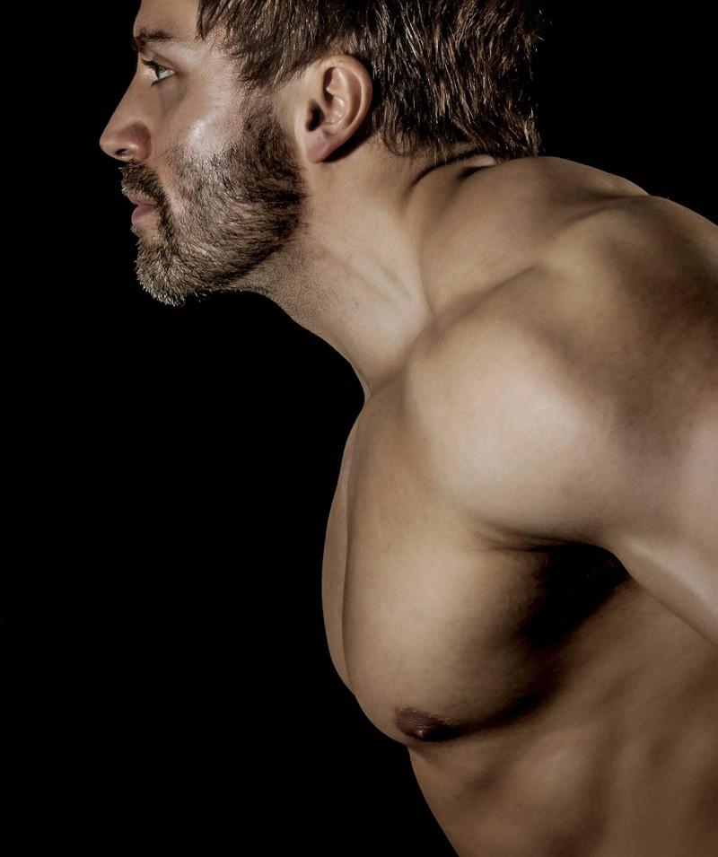 Männliche Brustwarzen haben keine Funktion.
