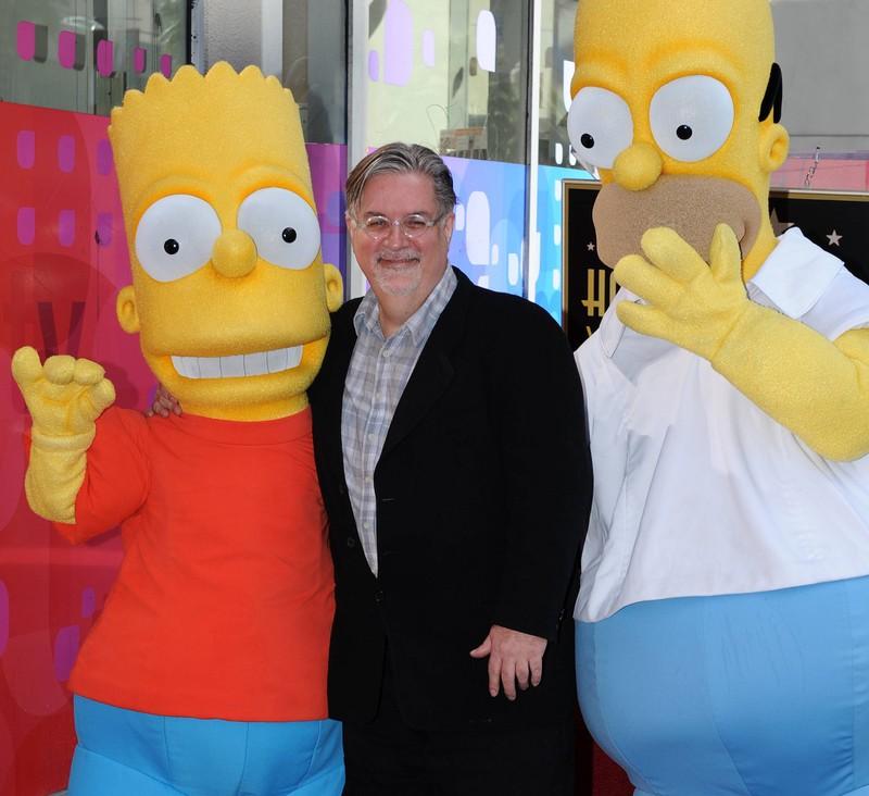"""Die Familie """"Simpson"""" ist nach Familienmitglieder von Matt Groening benannt."""
