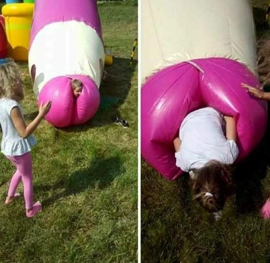 Kinderspielplätze, die eigentlich nicht jugendfrei sind