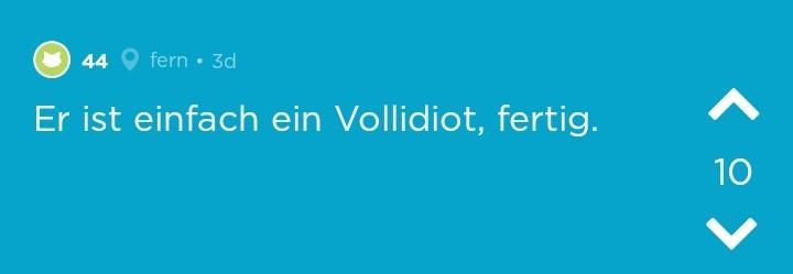 """Andere stehen OJ bei und sagen, dass ihr Freund ein """"Vollidiot"""" sei."""
