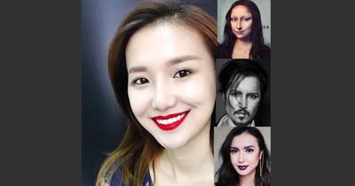 All diese Bilder zeigen dieselbe Frau – doch sie sieht immer anders aus