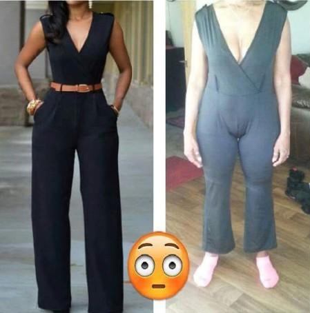 Frau bestellt ein Kleid online und erlebt beim Auspacken eine Überraschung