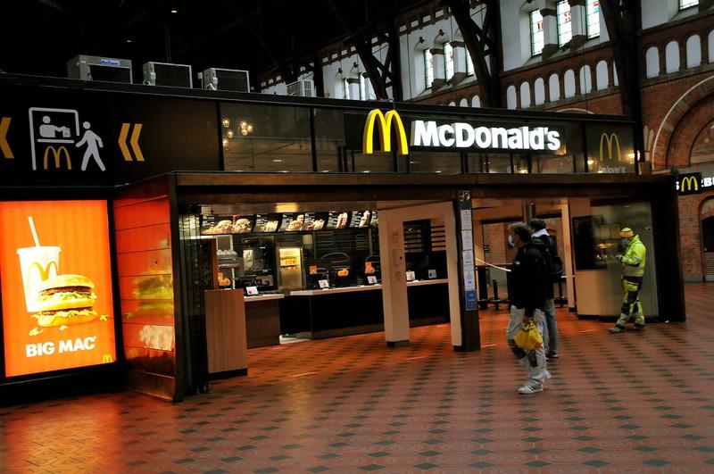 McDonald's: Immer gut erreichbar