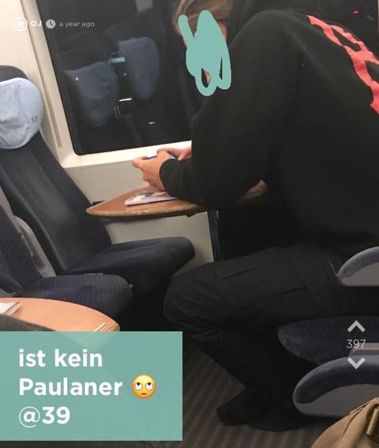 Süße Jodel-Flirtstory startet mit einem Maoam im Zug