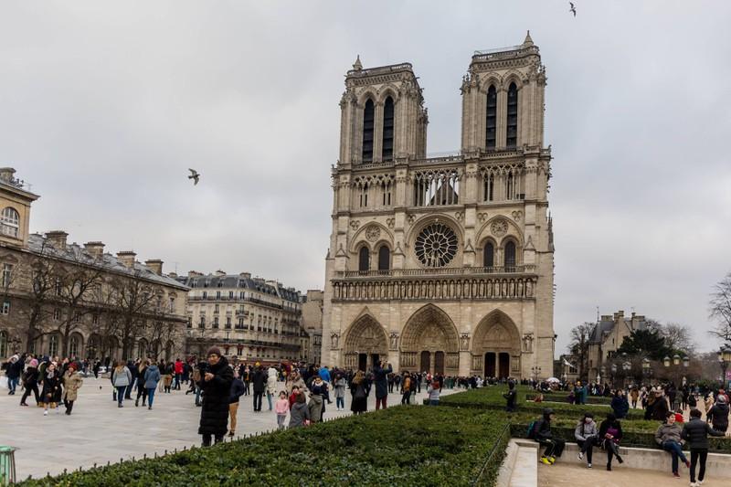 So sah Notre Dame vor der Tragödie aus