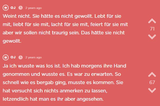 Der siebzehnte Jodel des Jodel Beitrags.