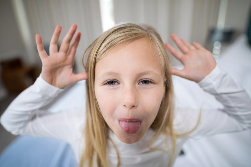 Kinder wählen ihre Worte nicht immer mit Bedacht.
