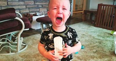 Eltern teilen die lustigsten Gründe, warum ihre Kinder angefangen haben zu weinen
