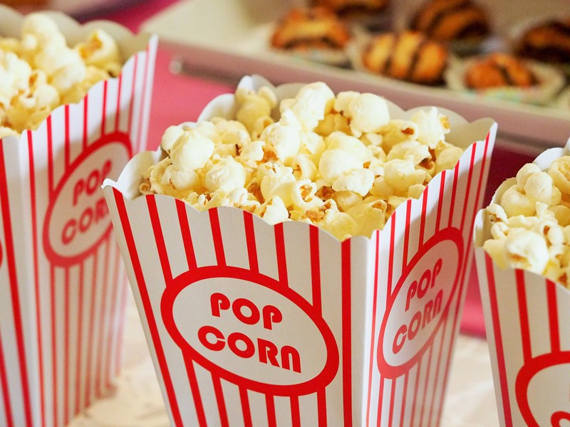 Snacks im Kino