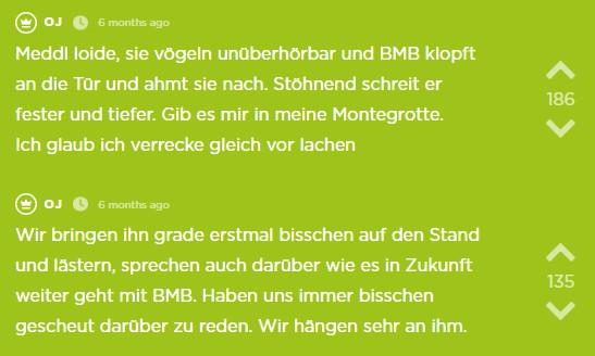 Der sechzehnte Jodel des Jodel Beitrags.