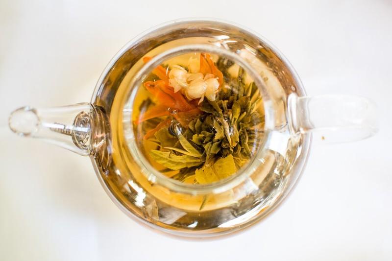Eine volle Kanne Tee