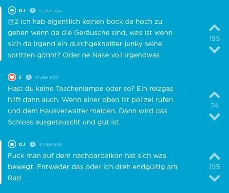 Jodel aus der App in Würzburg