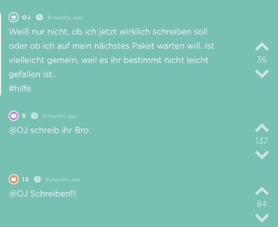 Jodel aus der App Erfurt