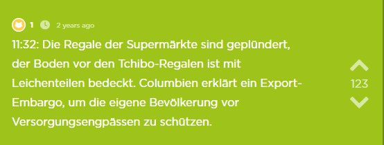 Supermärkte geplündert