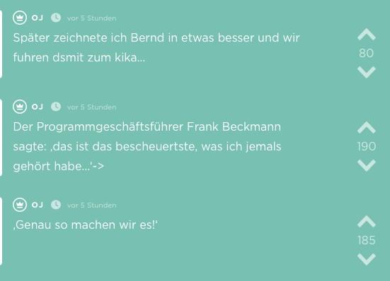 Jodel aus der App Karlsruhe