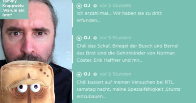 """""""Bernd das Brot""""-Erfinder packt auf Jodel aus: So sind die Figuren entstanden"""
