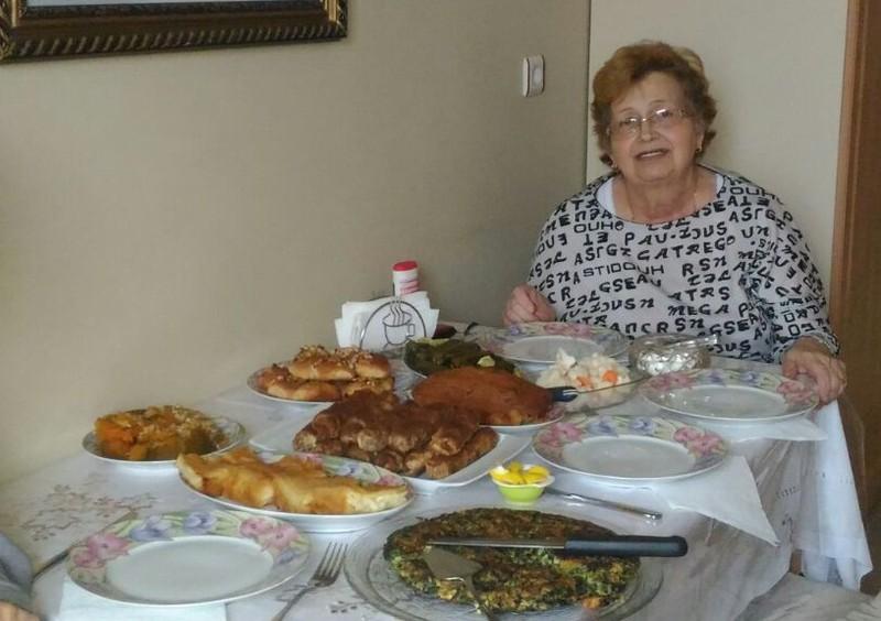 Das letzte Bild einer älteren Frau