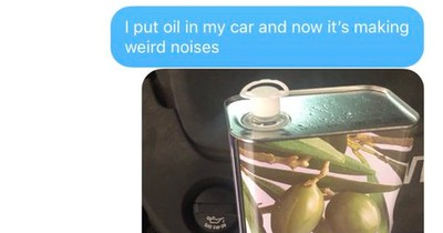 Wie du deinen Vater mit Olivenöl prankst: Die besten Reaktionen