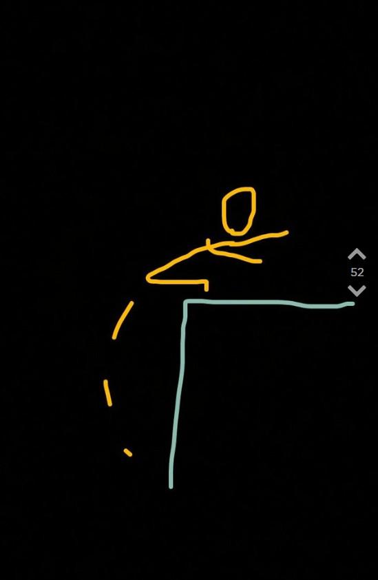 Jodler macht eine Zeichnung von Frau die auf die Gleise pinkelt.