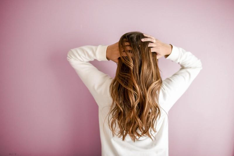 Haare, Frau, lange Haare, Rücken