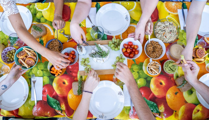 Gesund bleibt man wenn man auf seine Ernährung achtet
