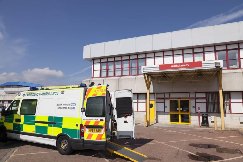 Zu sehen ist die Notaufnahme eines Krankenhauses.