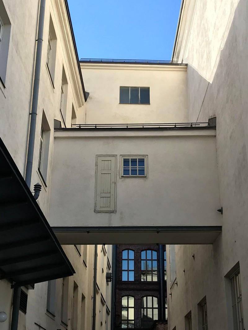 Hier führt eine Tür ins Nirgendwo