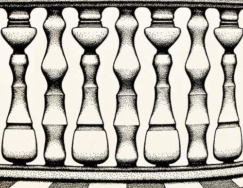 Bild, das eine optische Täuschung darstellt