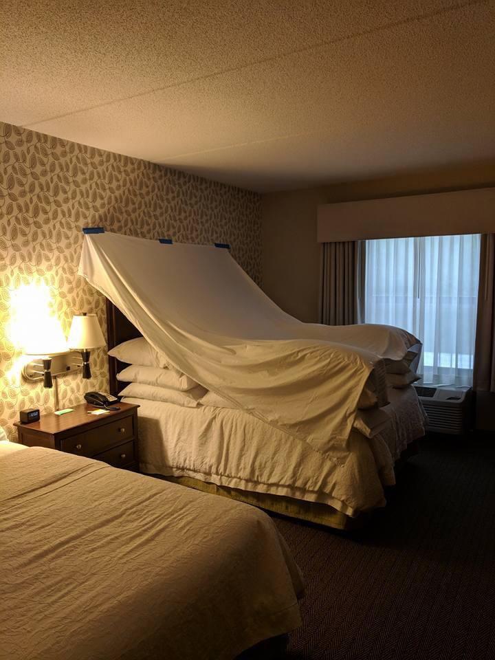 Hotel, das mit Kreativität und Mühe dekoriert wurde
