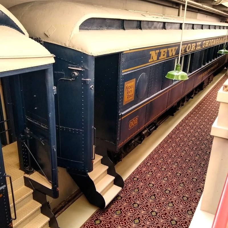 Hotel, das sich in einem Zug befindet