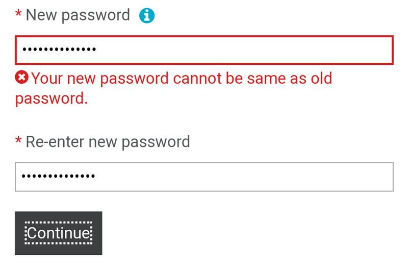 Probleme des Alltags, die Logging-Schwierigkeiten beim Passwort zeigen